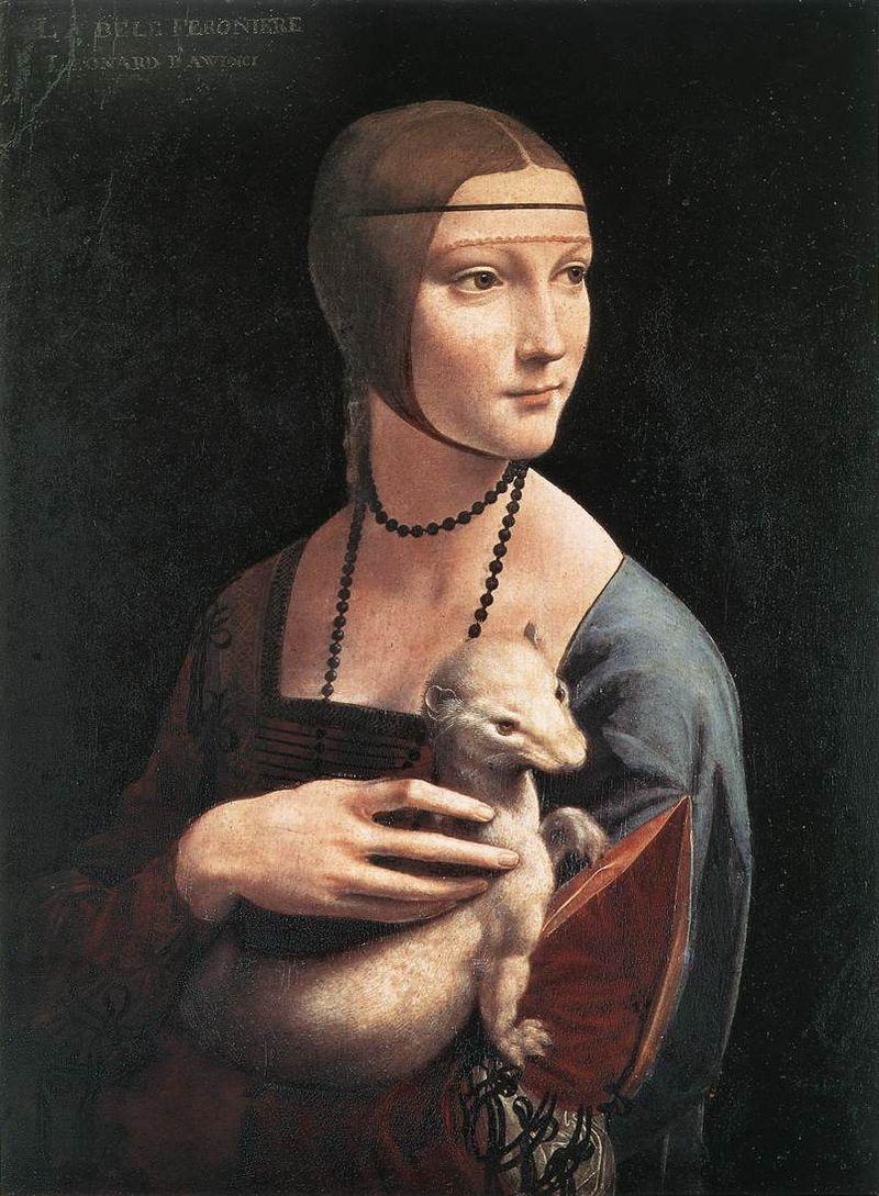 1. Дама с горностаем