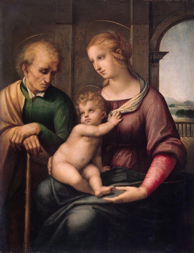 1. Святое семейство