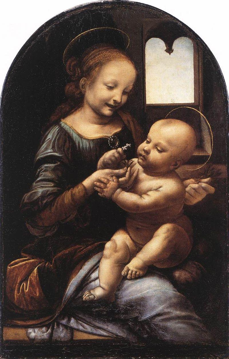 1. Leonardo_da_Vinci_Benois_Madonna